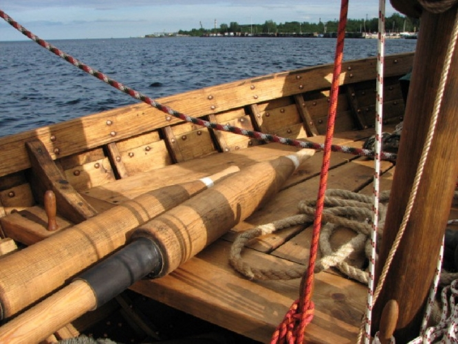 проект парусно гребных лодок