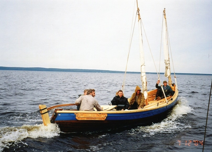 исконно русская лодка